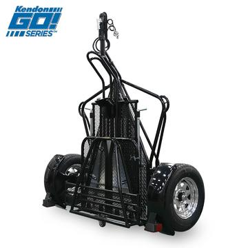 Kendon Go! Series Single Rail Ride-Up Folding Motorcycle Trailer