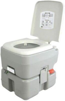 SereneLife Outdoor Portable Toilet