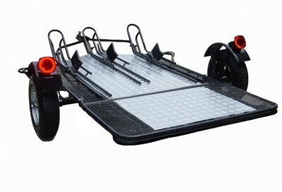 Trinity MT3 Three Rail Motorcycle Trailer
