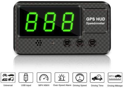 VJOYCAR Universal Digital GPS Speedometer HUD