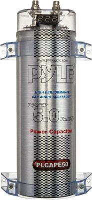 Pyle 5.0 Farad Digital Power Capacitor