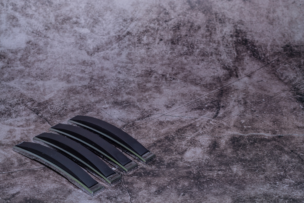 black rubber car door edge guard