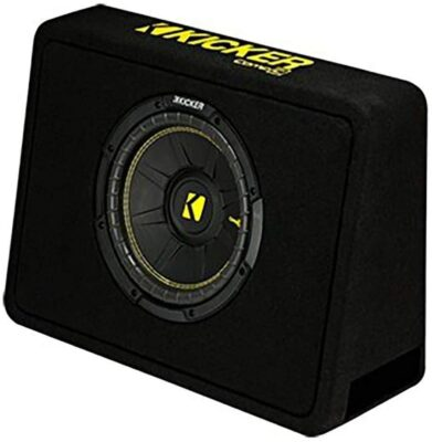 """Kicker 10"""" Vented Thin Profile Subwoofer"""
