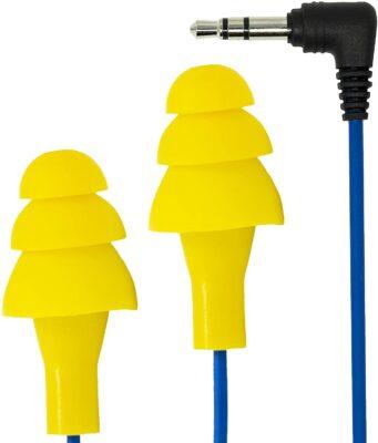 Plugfones Basic Earplug-Earbud Hybrid