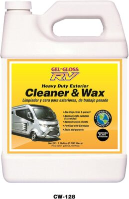 TR Industries Gel-Gloss RV Cleaner and Wax