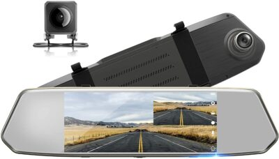 Toguard Rearview Mirror and Backup Camera