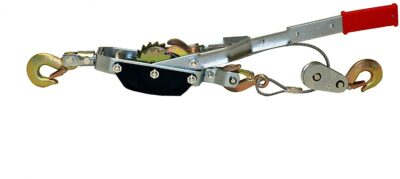 ABN Heavy-Duty Hand Puller With Cable Rope