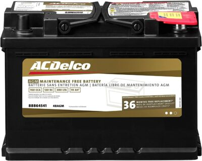 ACDelco 48 AGM Automotive Battery