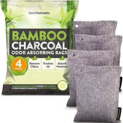 Basic Concepts Bamboo Charcoal Odor Absorbing Bags