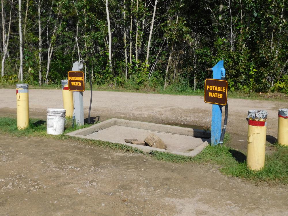 RV water station