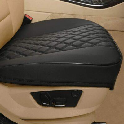 Black Panther PU Car Seat Cover