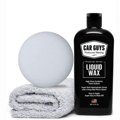 Car Guys Liquid Wax Polymer Paint Sealant