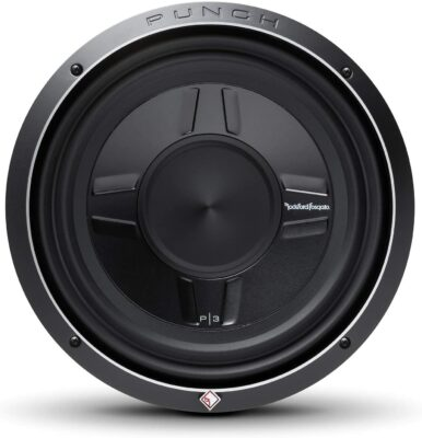 Rockford Fosgate P3SD4 Punch Shallow Subwoofer