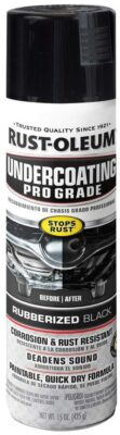 Rust-Oleum Rubberized Undercoating Spray