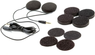 UClear Digital Pulse Wired Drop-in Helmet Speakers