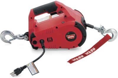 Warn PullzAll Corded 120V AC Portable Electric Winch