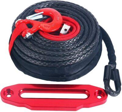 YaeKoo Synthetic Winch Rope Kit