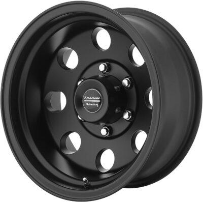 American Racing Custom Wheels Satin Black