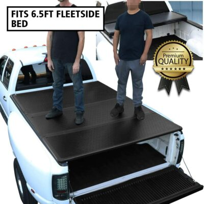 DNA Motoring TTC Hard Truck Bed Top Tonneau Cover