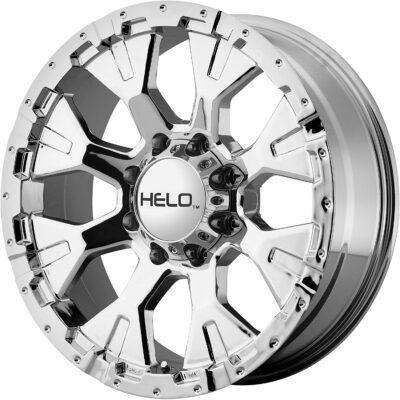 Helo Triple Chrome Plated Wheel