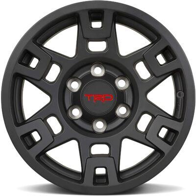 Toyota TRD PRO Matte Black Wheels