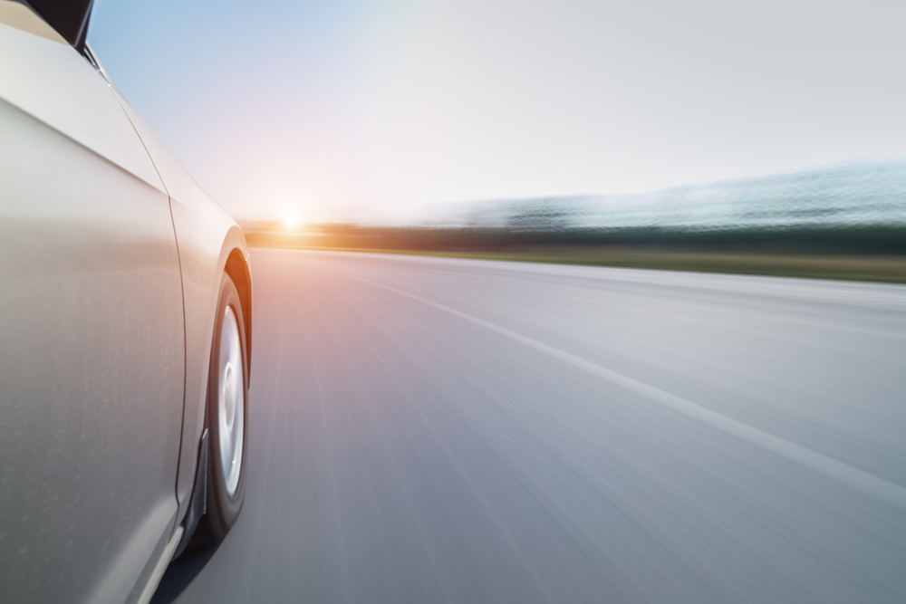 car accelerating