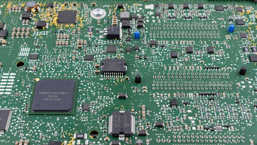 engine control unit power control board