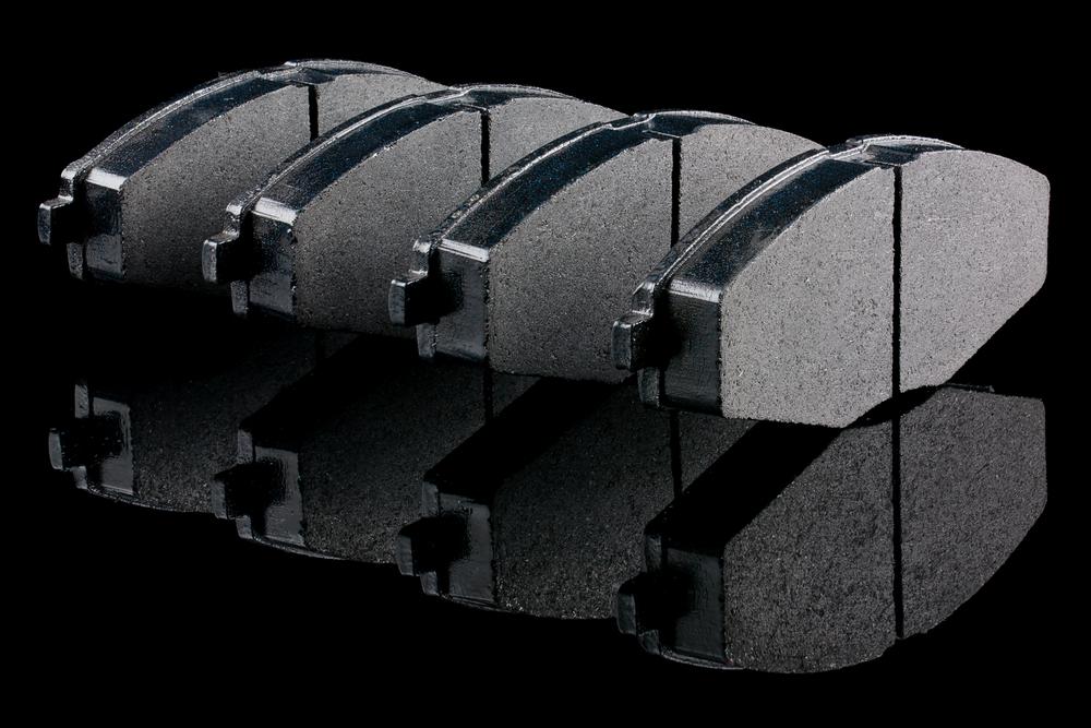 set of new brake pads