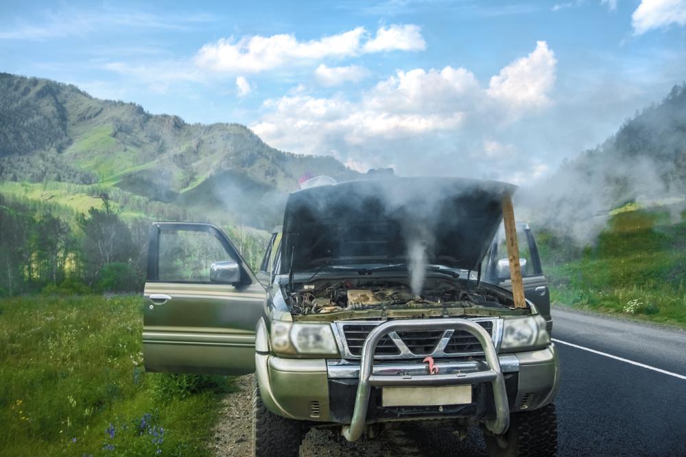 truck overheating