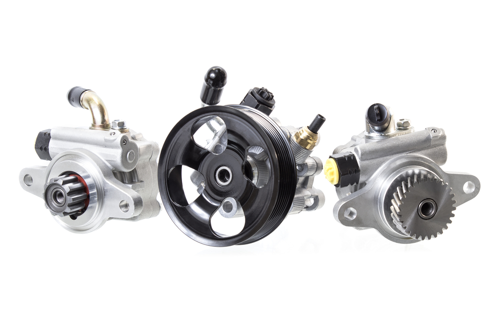 hydraulic, electric, and electrohydraulic power steering pumps