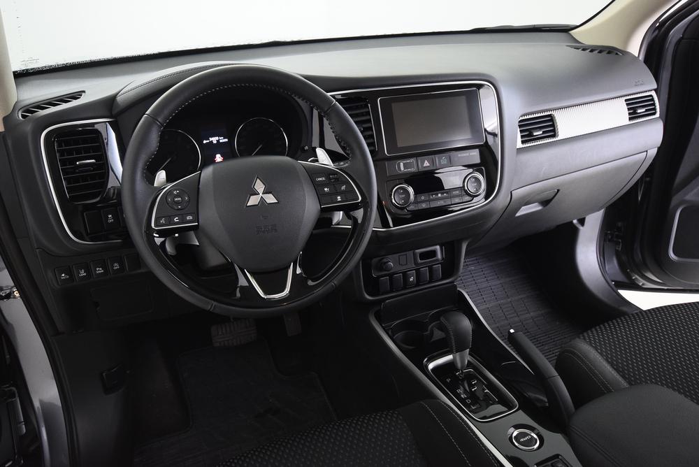 Cockpit view of car