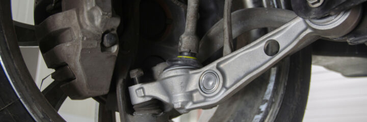 Car Wandering? Your Control Arm Bushings Might Be Bad