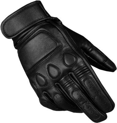 Jackets 4 Bikes Goatskin Leather Motorcycle Gloves