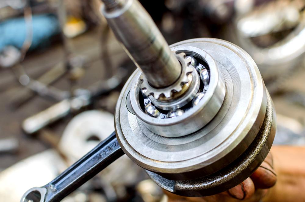 ball bearing on drive shaft
