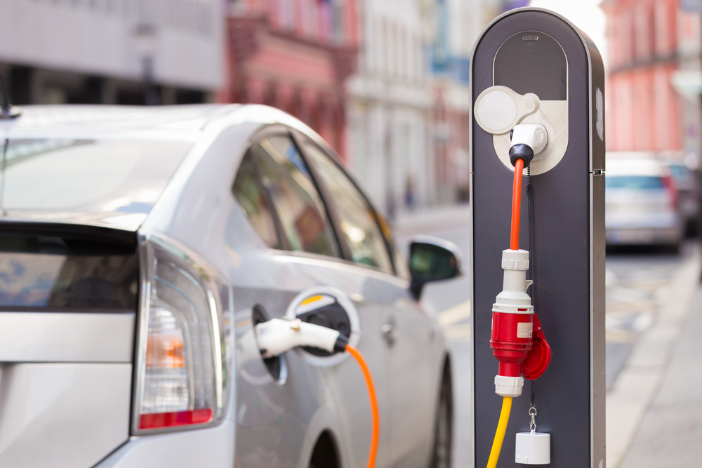 power supply electric vehicle charging station